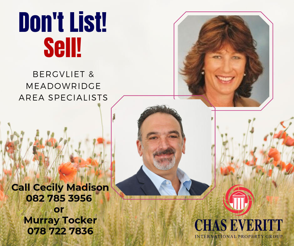 Cecily & Murray are Selling!